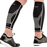 Mava Sports Leg Compression Socks, Calf Sleeves for Runners
