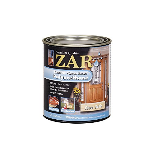 The best water based polyurethanes for diy projects 2018 for Zar exterior water based polyurethane