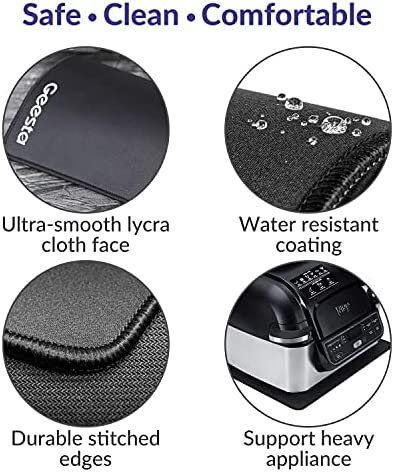 4-Pack The Kitchen Appliance Mats for Moving Small Appliances - Coffee Makers, Blenders, Stand Mixers, Toasters
