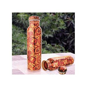Anti Bacterial Ayurveda Healing Copper Water Bottle