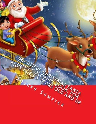 Beautiful Christmas Santa Claus Coloring Book