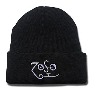 Led Zeppelin Band Logo Beanie Fashion Unisex Embroidery Beanies Skullies Knitted Hats Skull Caps