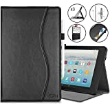 Retear Case for Leather Kindle Fire HD 10 Tablet(7th/5th Generation, 2017/2015 Release) with Auto Wake/Sleep
