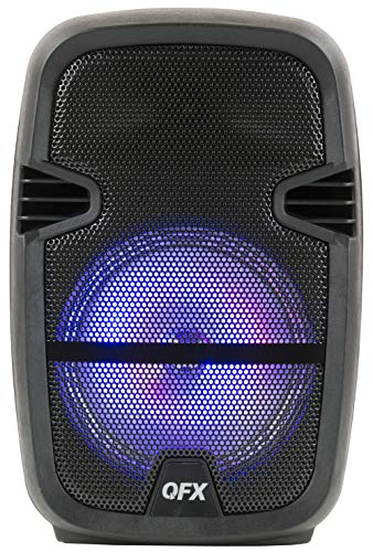 QFX PBX-85 8' Portable Bluetooth Party Speaker with Microphone