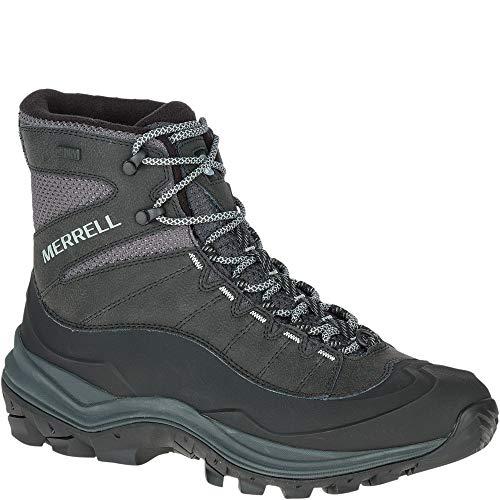 Merrell Men's Thermo CHILL 6' Shell Waterproof Sneaker, Black, 13 M US