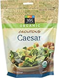 365 Everyday Value, Organic Croutons Caesar, 4.5 Ounce
