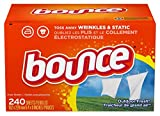 Bounce Fabric Softener and Dryer Sheets, Outdoor Fresh, 240 Count