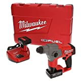 Milwaukee 2416-22xc M12 Fuel 5/8' Sds Plus Rotary Hammer Kit With Two Batteries