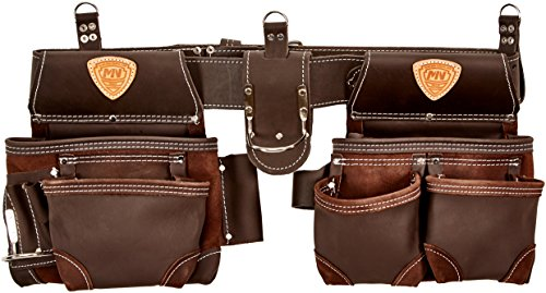 McGuire-Nicholas 803-E Oil Tanned Leather Tool Rig, Brown