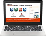 New Lenovo 130S 11.6' HD Laptop, Intel Celeron (2 core) N4000 1.1GHz up to 2.6GHz, 4GB Memory, 64GB SSD, Webcam, Bluetooth, HDMI, USB 3.1, Windows 10, Office 365 Personal 1-Year Included