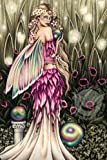 "Jessica Galbreth Greeting Card 5"" X 7"" Fairy Faery Enchanted Garden"