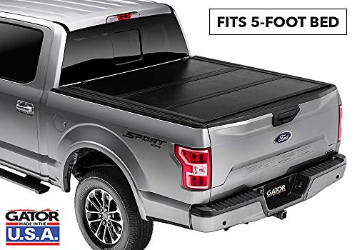 Gator EFX Hard Tri-Fold Truck Bed Tonneau Cover | GC14002 | fits 2015-2020 Chevy Colorado/GMC Canyon 5' Bed | MADE IN THE USA