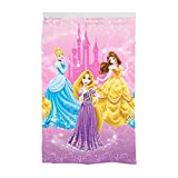 Disney Princess Kids Room Darkening Window Curtain Panel, 42' x 63', Pink