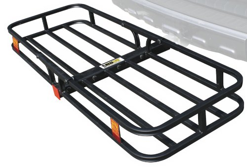 MaxxHaul 70107 Hitch Mount Compact Cargo Carrier - 53