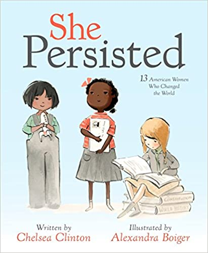 she persisted empowering books for little girls