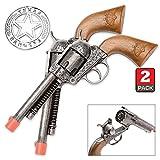 Parris Texas Ranger Double Holster Toy Cap Gun Set