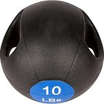 11″ Dual Grip Medicine Ball by Trademark Innovations
