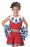 California Costumes Patriotic Cheerleader Child Costume, Small