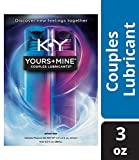 K-Y Yours & Mine Couples Lubricant, 3 oz., Lube for Him and Her