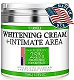 Whitening Cream - Advanced Skin Bleaching Cream for Face - Body - Intimate Areas - Underarm Whitening Cream - Private Parts - Made in USA - Melasma & Hyperpigmentation Treatment - 50 ML