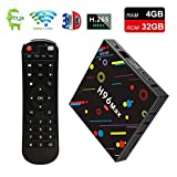 [EstgoSZ H96 Max TV Box 4GB Ram 32GB ROM] Android 7.1 RK3328 4K Smart Android TV Box Support 2.4G/5G Dual Wifi/100M LAN/USB3.0/BT 4.0/3D /H265 UHD Android Box