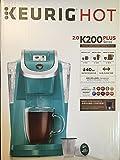 Keurig 2.0 K200 Plus Series Single Serve Plus Coffee Maker Brewer Turquoise