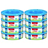 Playtex Diaper Genie Refill Bags, Ideal for Diaper Genie Diaper Pails, Registry Gift Set, 8 Pack, 2160 Count