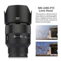 Meike-MK-85mm-F18-Large-Aperture-Full-Frame-Manual-Focus-Lens-Standard-Medium-Portrait-Lens-Support-Electronic-Automatic-Aperture-EXIF-Information-Transmission-for-Sony-E-Mount-Cameras