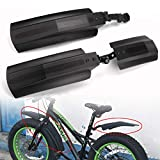 Farway 26 inch Snow Bicycle Bike Front Rear Mudguard Cycling Bike Fender for Fat Tire Mountain Bike