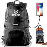 Totalpac Lightweight Foldable Packable Backpack - Daypack for Traveling & Camping - Ultralight Backpack -Travel & Hiking