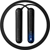 Tangram Smart Rope Pure (Bluetooth 4.0 Enabled Jump Rope, Jump Counter, Smart Phone Connected App, Smooth Ball Bearing Rotation)