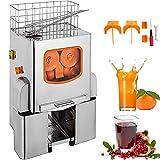 VEVOR Orange Juicer Orange Squeezer Machine Citrus Juicer Electric Fruit Juicer Machine Citrus Lemon Lime Automatic Auto Feed Commercial (Upgrade Design)