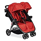 Best Double Tandem Baby Strollers, Umbrella For Lightweight Use (21.15 Pounds) With Infants, Toddlers And Kids, JPMA Certified, Red Color