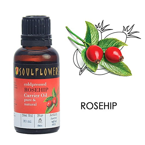 Soulflower Rosehip Oil for Wrinkles and Fine Lines, 30ml 13