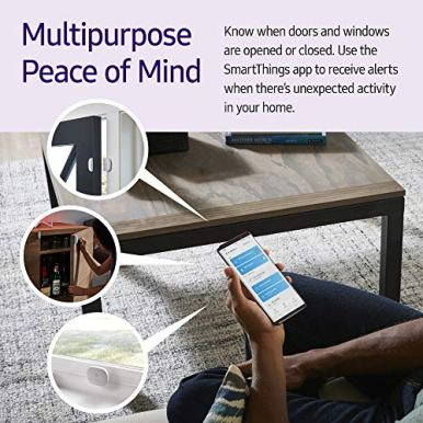 Samsung-SmartThings-GP-U999SJVLAAA-Door-Window-Multipurpose-Sensor-White