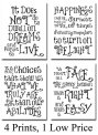 Harry-Potter-Quotes-and-Sayings-Art-Prints-Set-of-Four-Photos-8×10-Unframed-Great-Gift-for-Harry-Potter-Fans