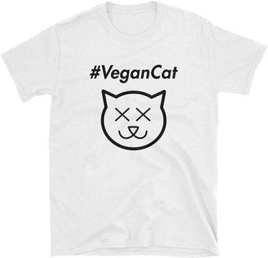Joe Rogan Vegan Cat #VeganCat Short-Sleeve T-Shirt   Amazon.com