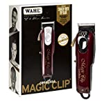 Wahl Professional 5-Star Cord/Cordless Magic Clip #8148 - Great for Barbers & Stylists - Precision...