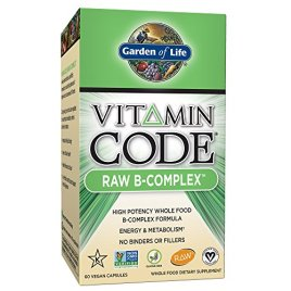 Garden of Life Vegan B Vitamin – Vitamin Code Raw B Complex Whole Food Supplement