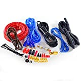 InstallerParts 2000W 4AWG Complete Car Amp Wiring Kit