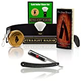 ~Shave Ready~ Shaving Straight Razor 6/8' GD w/Box 208 Gold Dollar Straight Razor, The Blades Grim...