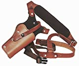 Western Images Leatherworks, Inc Sportsman's Leather Chest Holster for Taurus Revolvers (Judge 4510 .410 GA.45LC 3' BBL 2.5' Cylinder, I'm Right Handed)