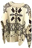 Product review for Generic Women's Fashion Round Ncek Christmas Printing Knit Sweater