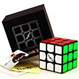 cuberspeed QiYi Valk 3 3x3x3 Black Magic Cube QiYi MoFangGe The Valk 3 3X3X3 Speed Cube