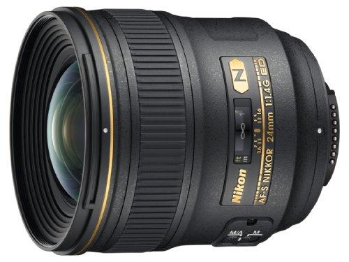 Nikon AF-S FX NIKKOR 24mm f/1.4G ED Wide-Angle Prime Lens for Nikon DSLR Cameras