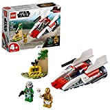 LEGO Star Wars Rebel A Wing Starfighter 75247 4+ Building Kit (62 Pieces)