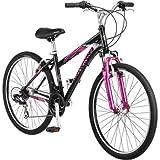 26' Schwinn Sidewinder Women's Mountain Bike, Matte Black/Pink