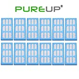 PUREUP 12 Pack Replacement Water Filter Compatible with Cat Mate Dog Mate Fountains Filter
