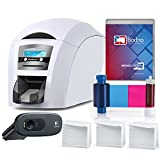 Magicard Enduro 3e Dual Sided ID Card Printer & Complete Supplies Package with Bodno ID Software