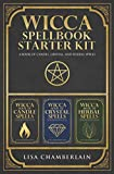 Wicca Spellbook Starter Kit: A Book of Candle, Crystal, and Herbal Spells
